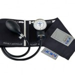 MDF Calibra Aneroid Sphygmomanometer – Professional Blood Pressure Monitor with Adult Sized Cuff Included – Black (MDF808M-11)