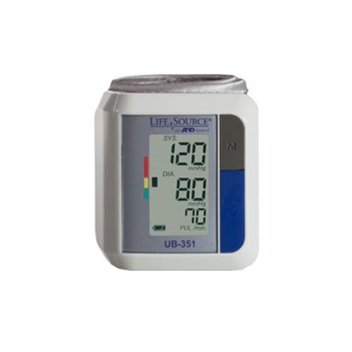 Lifesource UB-351 Automatic Wrist Blood Pressure Monitor