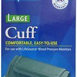 LifeSource UA-281 Blood Pressure Monitor Cuff, Large (14.2″ – 17.7″)