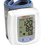 Santamedical Wrist Digital Blood pressure Monitor with Case – Large Display