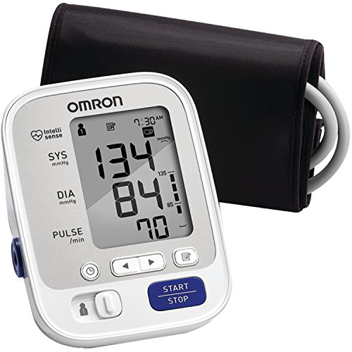 Omron 5 Series Upper Arm Blood Pressure Monitor with Wide-Range Cuff (BP742N)