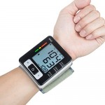 KEDSUM Wrist Digital Blood Pressure Monitor with 90 Memory Capacity ,Two User Modes ,FDA Certified-Black