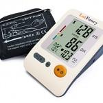 LotFancy FDA Approved Digital Upper Arm Blood Pressure Monitor & Heart Rate Monitor (Medium cuff 8.6-14.2 inch)