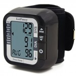 LotFancy Digital Auto Wrist Type Blood Pressure Monitor ,Large LCD Display,Irregular Heartbeat Detection, 60 Records,Average Latest 3 Records (Cuff 5.31-8.46 inch)