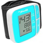 Pyle PHBPBW40BL Bluetooth Smart Blood Pressure Monitor – Blue
