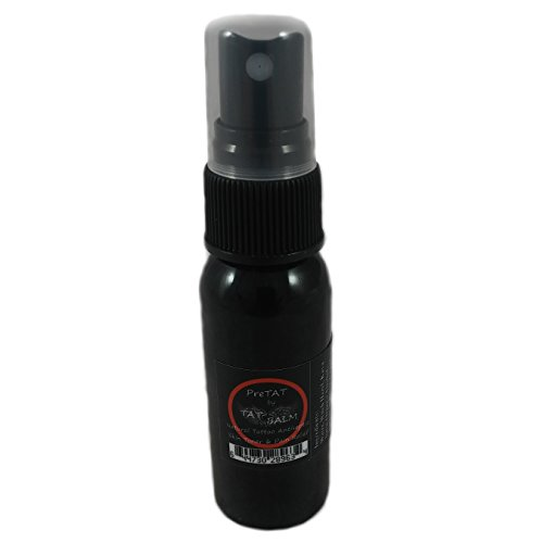Tattoo Numbing Spray - All Natural Numb (1 Ounce) - The Healing Tattoo Pain Killer