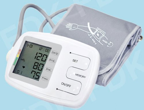 EastShore C12BVL Talking Upper Arm Blood Pressure Monitor With EXTRA LARGE CUFF 22-48CM (8.7-19 IN)