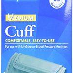 LifeSource UA-280 Blood Pressure Monitor Cuff,  Medium (9.4″ – 14.2″)