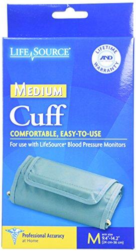 LifeSource UA-280 Blood Pressure Monitor Cuff,  Medium (9.4