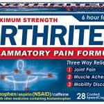 Arthriten Inflammatory Pain Formula Caplets, 28 Count