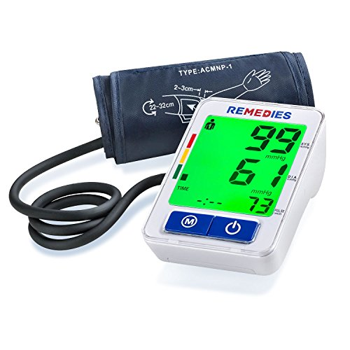Blood Pressure Monitor, Easy and Accurate Readings.Guaranteed Instant, Automatic Digital Upper Arm Cuff , Portable & Perfect for Home Use Cuff that fits Standard and Large Arms