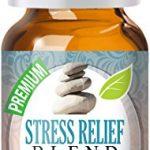 Stress Relief Blend 100{0ad59209ba3ce7f48e71d4a0dc628eee9b107ea7079661ded2b3bda89b047a8b} Pure, Best Therapeutic Grade Essential Oil – 10ml – Bergamot, Patchouli, Blood Orange, Ylang Ylang, Grapefruit