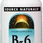 Vitamin B-6 500mg Timed Release Source Naturals, Inc. 100 Sustained Release Tablet