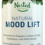 Natural Mood Lift – Relaxes Mind & Body, Calms, Boosts Serotonin, Reduces Anxiety | Nested Naturals | 3rd Party Tested, Vegan, Non-GMO – Made with 5-HTP, Magnesium, L-Methionine, Vitamin B5 & B6