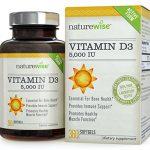 NatureWise Vitamin D3 5,000 IU in Organic Olive Oil, Non-GMO, USP Grade, 360 count