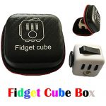 Cattle Fidget Cube Box Relieves Stress And Anxiety for Children and Adults (Black Box, 884)