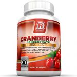 BRI Nutrition 3x Strength 12,600mg CranGel Power Plus: High Potency, Maximum Strength Cranberry SoftGel Capsules With 12,600 Grams Equivalent of Cranberries Fortified with Vitamins C and Natural E – 90 Softgels