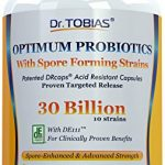 Dr. Tobias Probiotics: 30 Billion with Delay Release & Spore Forming Strains – Probiotic Supplement for Post-Antibiotic, Health & Immune Support Manufacturer: Dr. Tobias