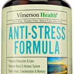 Stress Relief & Natural Anti Anxiety Supplement by Vimerson Health. Herbal Blend with Biotin, 5-HTP, Valerian, Lutein, Vitamins B1 B2 B5 B6, L-Theanine, St Johns Wort, Ashwaghanda, Chamomile, Niacin
