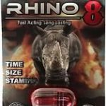RHINO 8 8000 Male Sexual Performance Enhancement Pill 6 PK