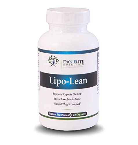 Dr's Elite Lipo-Lean - Weight Loss Pills - Raspberry Ketones - Diet Pills That Work By Burning Fat And Appetite Suppressant - Best Weight Loss Supplement To Lose Fat Fast - 60 Capsules