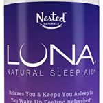 LUNA – #1 Natural Sleep Aid on Amazon – Herbal, Non-Habit Forming Sleeping Pill (Made with Valerian, Chamomile, Passionflower, Lemon Balm, Melatonin & More!) – Nested Naturals Lifetime Guarantee