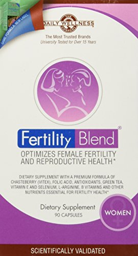 Fertility Blend for Women (1 month supply) - Optimizes Female Fertility and Reproductive Health