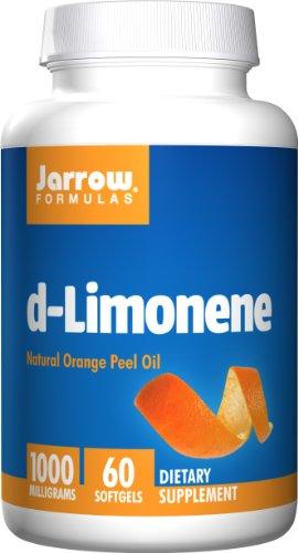 Jarrow Formulas D-Limonene, Protects the Esophagus, 1000 mg, 60 Softgels