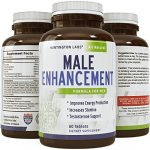 Potent Male Enhancement Supplement – Pure Maca + Tongkat Ali + Zinc – Increases Libido & Drive – Boosts Energy – Natural Testosterone Support – Premium Formula for Men – GMO Free – By Huntington Labs
