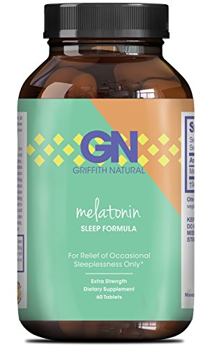 Pure Melatonin Sleep Aid - Fall Asleep Fast + Easier Best All Natural Supplement - Deep Calm + Restful Sleep Cycle - Non Habit Forming Gentle 3mg Dosage - Circadian Rhythm Hormone -