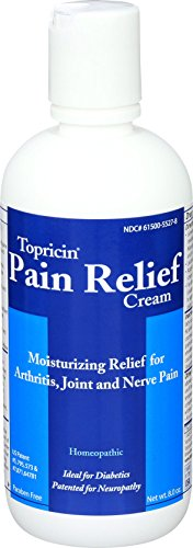 Topricin Topical Pain Relief Cream, 8 Ounce...