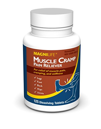 MagniLife Muscle Cramp Pain Reliever Tablets