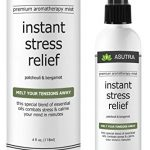 """Premium Aromatherapy Mist – """"INSTANT STRESS RELIEF"""" – Melt Your Tensions Away, 100{0ad59209ba3ce7f48e71d4a0dc628eee9b107ea7079661ded2b3bda89b047a8b} ALL NATURAL & ORGANIC Room & Body Mist, Essential Oil Blend – Patchouli & Bergamot – 100{0ad59209ba3ce7f48e71d4a0dc628eee9b107ea7079661ded2b3bda89b047a8b} GUARANTEED"""