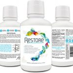 Biomic Sciences RESTORE For Gut Health | Restore 4 Life Trace Mineral & Lignite Liquid For Improved Wellness and Digestion Balance | 16 Ounces