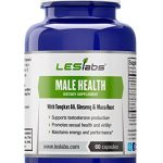 Male Health – Natural Testosterone Booster for Sexual Health and Libido, Endurance and Performance – With Tongkat Ali, Ginseng Panax and Maca – 60 Vegetarian Capsules