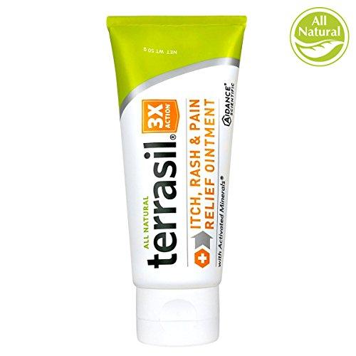 Terrasil Itch Rash & Pain Relief Ointment 50 Gram Tube