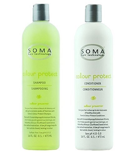 Soma Hair Technology Colour Protect Shampoo & Conditioner 16oz