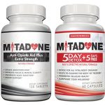 Mitadone Anti Opiate Aid Plus|Extra Strength Formula|5+5 Day Detox Combo (180 Count)Vicodin,Percocet,Methodone,Suboxone, Oxycontin,Codeine,Hydrocodone,Oxycodone, Morphine,Heroin and other Painkillers.