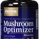Jarrow Formulas Mushroom Optimizer, Protects the Esophagus, 90 Caps