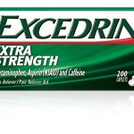 Excedrin Extra Strength Pain Relief Caplets 200 count For Headache Relief