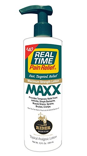 Real Time Pain Relief Maxx (12oz. Pump)
