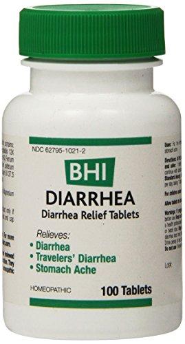 BHI Diarrhea Relief Tablets, 100 Count