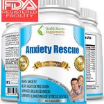 ** MEGA NATURAL ANXIETY RESCUE ** Premium Herbal Anxiety And Depression Aid – Simply The Best Stress & Anxiety Formula Ever Made – BEAT ANXIETY NATURALLY