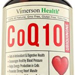 CoQ10 Ubiquinone 200mg Cardiovascular Health – Promotes Cellular Energy, Supports Healthy Brain, Heart, Blood Pressure, Digestive & Immune Systems. All Natural & Non-Gmo Coenzyme Q10 Supplement