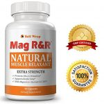 Mag R&R Natural Muscle Relaxer, Pain Reliever & Sleep Aid – EXTRA STRENGTH. Relieves leg cramps and restless legs. The ONLY Natural Muscle Relaxer with therapeutic doses of natural ingredients.