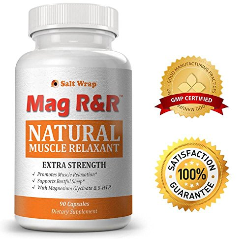Mag R&R Natural Muscle Relaxer, Pain Reliever & Sleep Aid - EXTRA STRENGTH. Relieves leg cramps and restless legs. The ONLY Natural Muscle Relaxer with therapeutic doses of natural ingredients.