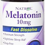 Natrol Melatonin Fast Dissolve Tablets, Citrus Punch flavor, 10mg, 60 Count