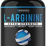 Extra Strength L-Arginine – 1200mg Nitric Oxide Booster for Muscle Growth, Libido, Vascularity & Energy | Cardio Heart Supplement With L-Citrulline | Essential Amino Acids To Train Longer & Harder
