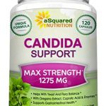 aSquared Nutrition Candida Support Cleanse Supplement – Pure Natural Candida Yeast Infection Support Detox Pills with Probiotics, Herbs & Antifungals – 120 Capsules