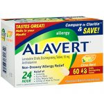 Alavert 24-Hour Non-Drowsy Allergy Relief (60-Count Citrus Burst Flavor Orally Disintegrating Tablets)